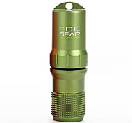 Travel Travel Pill Box/Case / Travel Bottle Travel Storage Waterproof / Sealed Aluminum