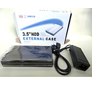Hard Disk Box Of 2.0 3.5 Inch Hddenclosure Sata External Box Case For Random Color