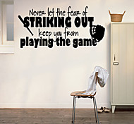 Words & Quotes Wall Stickers /Children 's Room Game Room Personalized Quotes Home Decals
