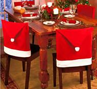 6pcs silla de navidad cubre decorations65 navidad * 50cm
