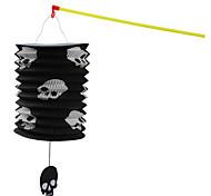 1PC Halloween Portable Lantern Folding Paper Lantern Portable Straight Lantern