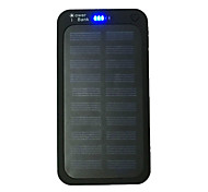 Ismartdigi PW12000 New Super Slim 1.1cm Solar 5000 5000mAh Power Bank with Solar Charging for Cell Phone