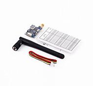 General Accesorios componentes FPV / Transmisor / controlador remoto / Receptor RC Aviones Negro 1 Pieza
