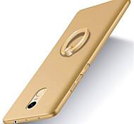 Для Кейс для Mi со стендом Кольца-держатели Матовое Кейс для Задняя крышка Кейс для Один цвет Твердый PC для XiaomiXiaomi Redmi 4X Xiaomi