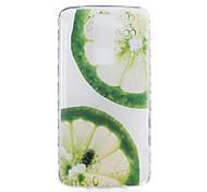 Para Funda LG Transparente / Diseños Funda Cubierta Trasera Funda Fruta Suave TPU LG LG K10 / LG K8 / LG K7 / LG G5