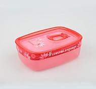 utilidades domésticas de plástico mais nítidas alimentos com o fabricante tampa china