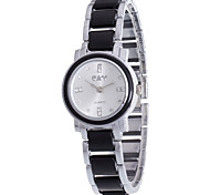 Fashion Casual Leisure Wristwatch For Women Ladies Rhinestone Dial Of Quartz Watches And Alloy Silver Band