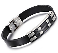 Kalen® New  Leather Bracelets Fashion 316L Stainless Steel Charm Bracelets Men's Fashion Accessories Cool Gifts