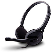 Gaming headphone computer earphone headband with microphone with volume control noise cancelling edifier k550