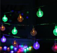 40-водить 5m звезда свет водонепроницаемый штекер открытый свет украшения рождества праздник вел свет шнура