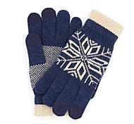 Original Xiaomi Wool Touch Gloves Keep Warm Grey Blue Beige