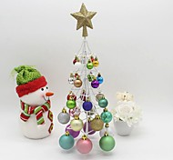 árvore de Natal 46 centímetros de criptografia bola pacote de natal árvore de natal