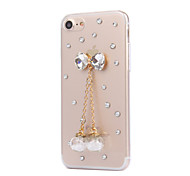 Per Custodia iPhone 7 Custodia iPhone 6 Custodia iPhone 5 Custodie cover Con diamantini Custodia posteriore Custodia Vignette Resistente