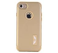 Per Custodia iPhone 7 / Custodia iPhone 7 Plus Acqua / Dirt / Shock Proof Custodia Integrale Custodia Tinta unita Resistente PC Apple