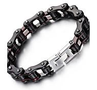Bracelet Chaînes & Bracelets Acier inoxydable Forme Géométrique ModeHalloween Anniversaire Soirée Quotidien Décontracté Regalos de