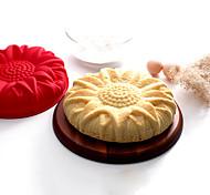 Silikon Sonnenblumenkuchenform -May fünfzehnten