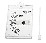 Accurate Hydrometer Salt Water Salinity Meter for Aquarium Fish Tank Readable
