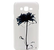 Painted Ink Chrysanthemum PC Phone Case for Galaxy J3(2016) J3 C7 C5