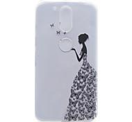 Little Girl Pattern High Permeability TPU Material Phone Shell For Motorola G4 Plus X1