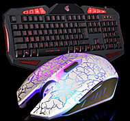 Keyboard Light Usb Mouse Game Computer Accessories