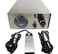Solong Tattoo Double Output Digital Tattoo Power Supply  Foot Pedal  Clip Cord Kit P104