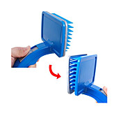 Pet Dog Cat hair Shedding Grooming Slicker Brush Comb Hair-release Self Cleaning