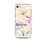 Rainbow Unicorn TPU Soft Case Cover for apple iPhone 7 7 Plus iPhone 6 6 Plus iPhone 5 5C iPhone 4