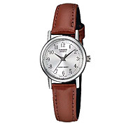 Casio Calssic Pointer Series Simple  Casual Quartz Men's Watch with Leather Strap MTP-1095E-7B