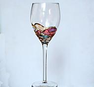 Glasgeschirr Glas,Red Wine Goblet 6.6*22.3CM Champagne Glass25*5.0CM Wein Zubehör