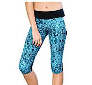 Per donna Corsa Pantalone/Sovrapantaloni Leggings Pantaloni Traspirante Primavera Estate Yoga Corsa Cotone Taglia piccolaAbbigliamento