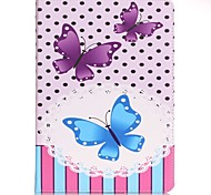 For Samsung GalaxyTab E 9.6 Wallet Butterfly PU Leather Hard Case Cover  Tab A 9.7 Tab A 10.1 (2016) T580N