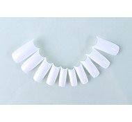 Nagelkunst liefert setzen Großhandel ein Stück Boxen Nägel 0-9 alle 10 100 Stück falsche Nägel drei Farb