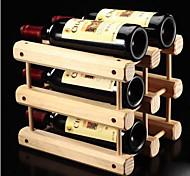 Garrafeira Madeira,32.5*26*29CM Vinho Acessórios