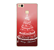 For Huawei P9 P9 lite P8 P8 lite Christmas tree TPU Soft Case Cover