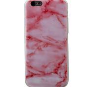 Per Fantasia/disegno Custodia Custodia posteriore Custodia Effetto marmo Morbido TPU Apple iPhone 7 Plus / iPhone 7