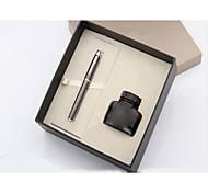 Pen Pen Fountain Pens Pen,Metal / Plastic / Glass Barrel Black Ink Colors For School Supplies Office Supplies Pack of PEN