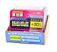 White Change Bag Pen Set(12PCS)