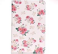 Per A portafoglio / Porta-carte di credito Custodia Integrale Custodia Fiore decorativo Resistente Similpelle Samsung Tab A 7.0