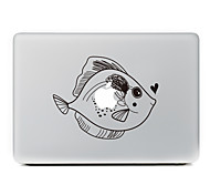 Fish Decorative Skin Sticker for MacBook Air/Pro/Pro with Retina