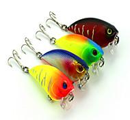 1 pc Vibrazione Vibrazione Colori casuali 6.6 g Oncia mm pollice,Plastica dura Pesca a mulinello
