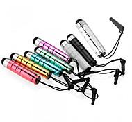 szkinston bala capacitivo caneta de toque 8-em-1 com a pena de metais de plug anti-crepúsculo capacitância para iPhone / iPod / iPad /
