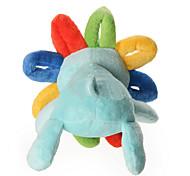 Dog Toy Pet Toys Plush Toy Squeak / Squeaking Multicolor Cotton