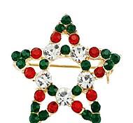 The Christmas Star Diamond Brooch
