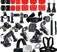 Accessories For GoProLens Cap / Monopod / Tripod / Screw / Buoy / Suction Cup / Straps / Hand Grips/Finger Grooves / Clip / Accessory Kit