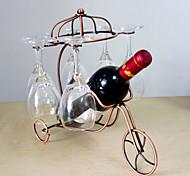 Винные стеллажи Чугун,33*24*31CM Вино Аксессуары