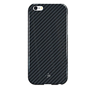 CORNMI For iPhone 6 6 S 6S Plus Cover Case Hard Back 100% Carbon Fiber Shell Shockproof Case