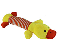 Cat Toy / Dog Toy Pet Toys Plush Toy / Squeaking Toy Squeak / Squeaking Blue / Pink / Yellow Cotton