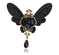 Women's Fashion Retro Alloy/Pearl/Ribbon Butterfly Water Drop Brooches Pin Daily/Casual Accessory 1pc