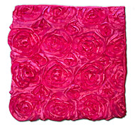3D Pink Flower Hotel Pillow Cover Series Stereo Fancy Polyester Polyester Fiber Material Cover Fillow