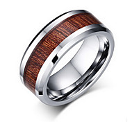 Men's Band Rings Ring Jewelry Tungsten Steel Jewelry For Party Daily Casual